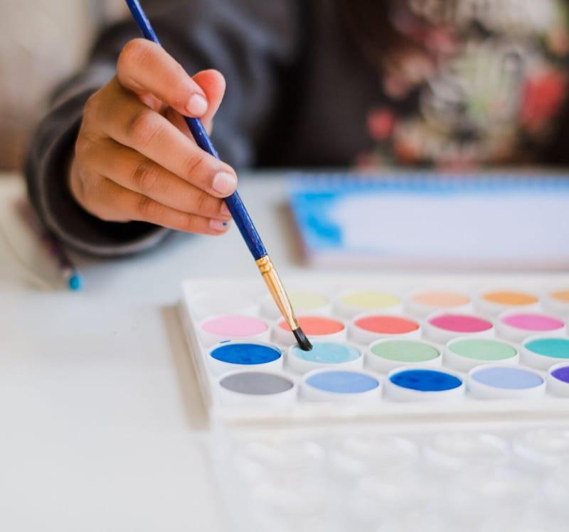 Rajz- és festés órák (6-12 éveseknek)