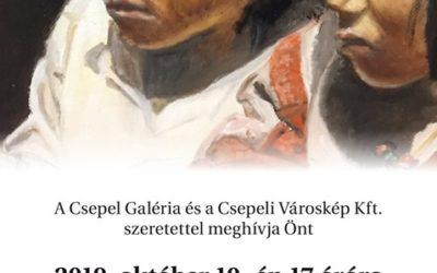 Csili festőkör kiállítása Csepelen