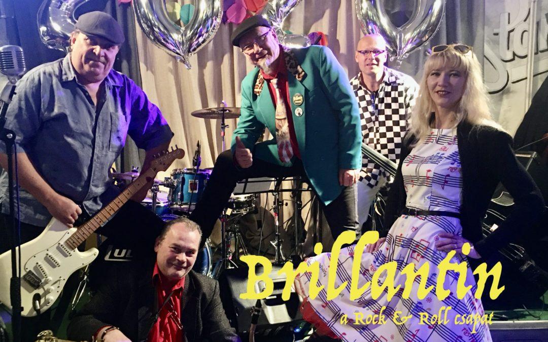 Csili Dancing Party – Brillantin