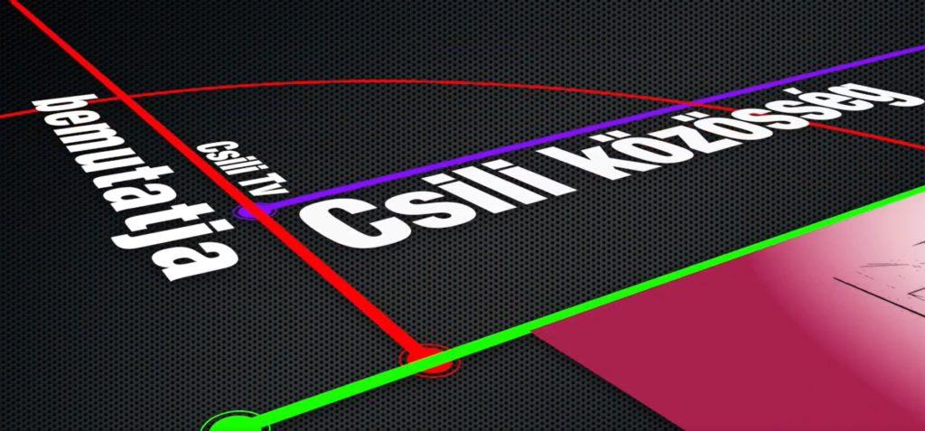 A CSILI TV BEMUTATJA KÖZÖSÉG C. MAGAZINJÁT